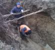 Аварія на головному водопроводі м.Нововолинська поблизу вул. Шопена
